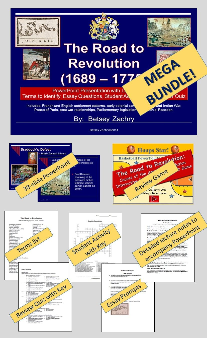road to revolution causes of the american revolution mega bundle road to revolution causes of the american revolution mega bundle
