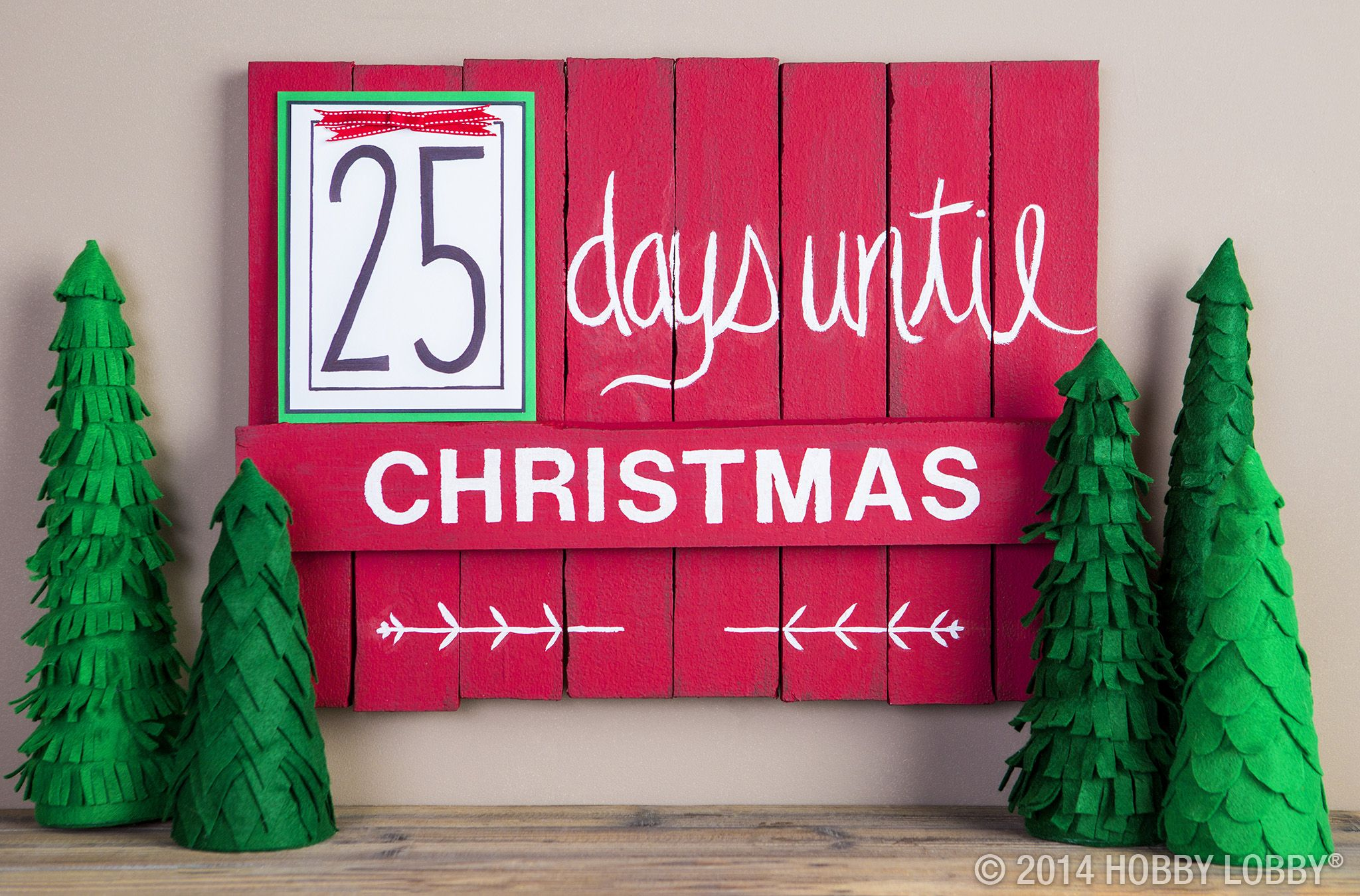25 days until christmas schedule store
