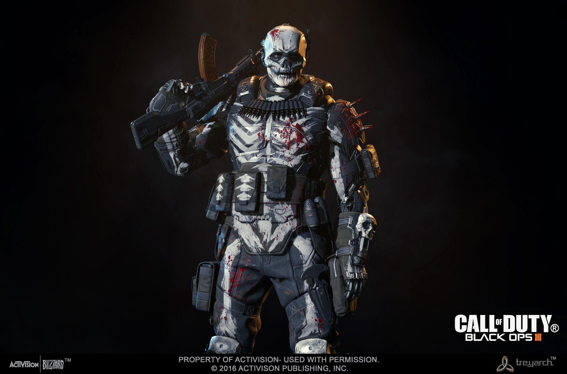 Artstation Multiplayer Skins Call Of Duty Black Ops 3 Dlc 2016 Mike Curran Call Of Duty Black Call Of Duty Black Ops 3 Call Of Duty