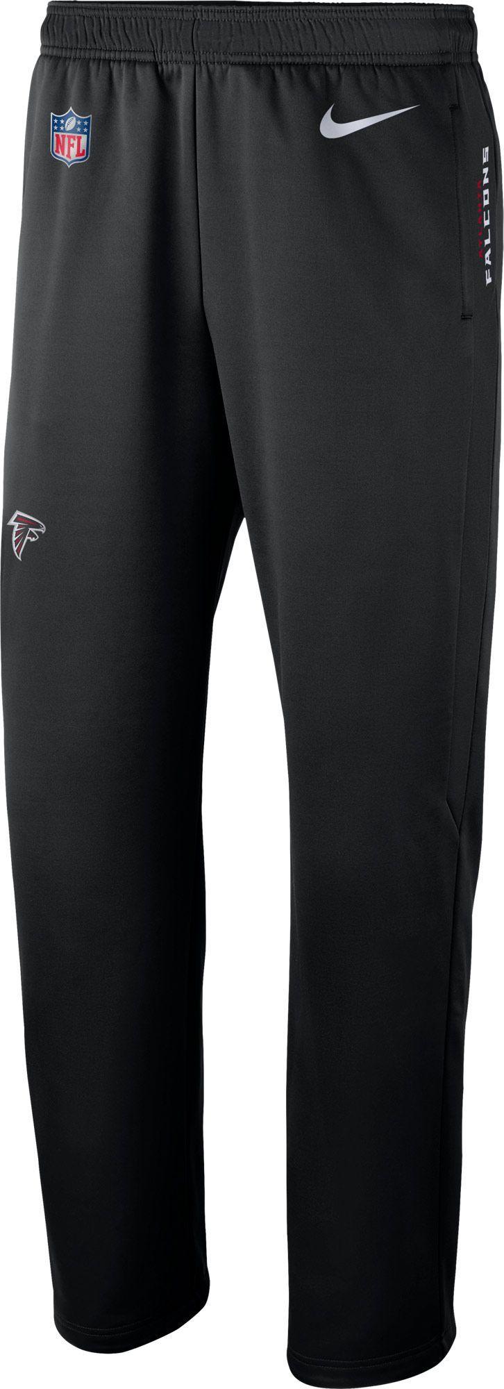 06bcfc0e49a4 Nike Men s Atlanta Sideline Therma-FIT Black Performance Pants