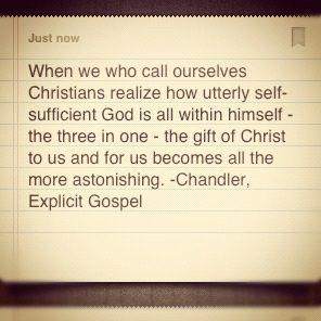 The Explicit Gospel - rec by Cindy Dietzel