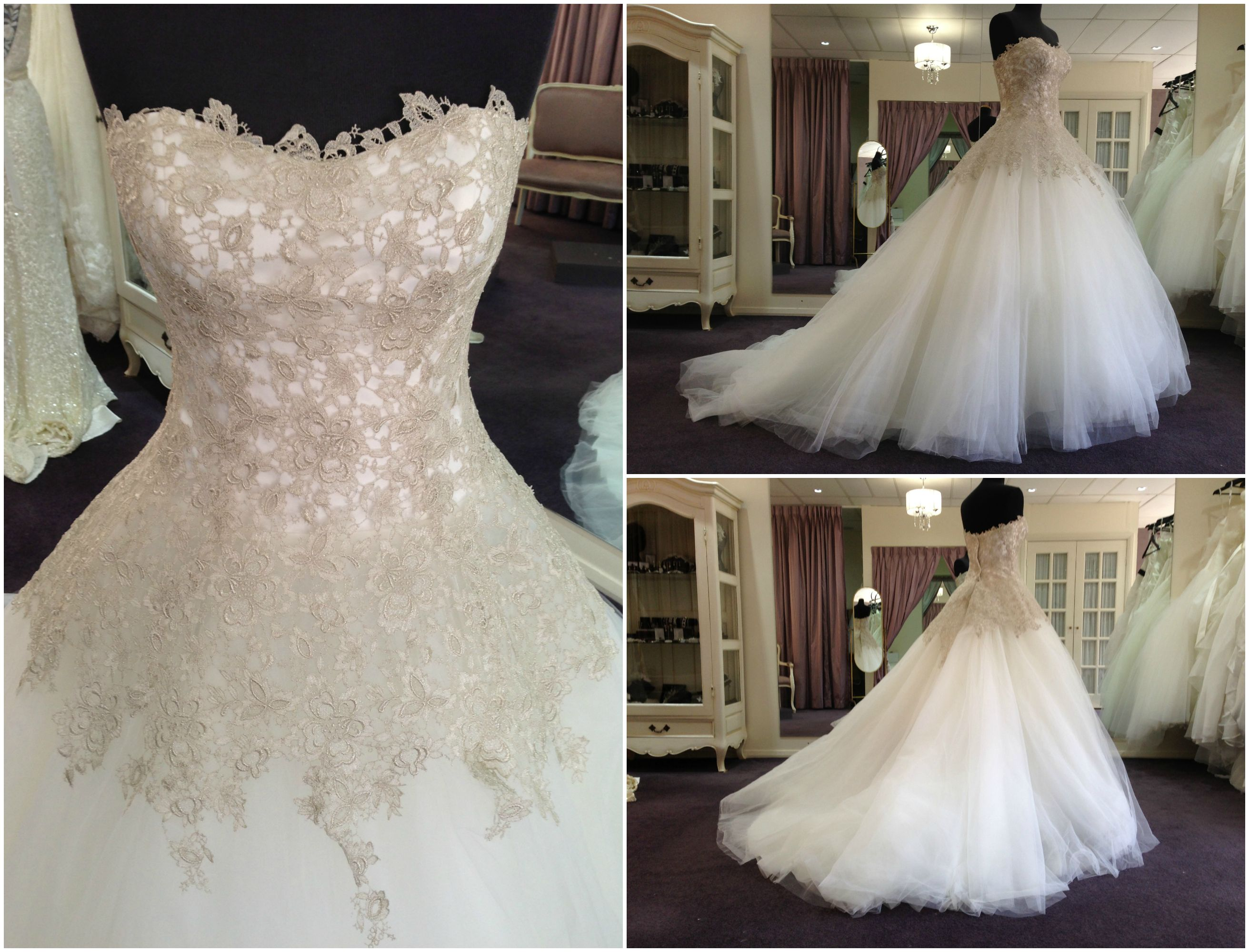 Just arrived in store we are loving the silver lace cosmobella just arrived in store we are loving the silver lace cosmobella 7644 blush wedding dressesblush ombrellifo Image collections