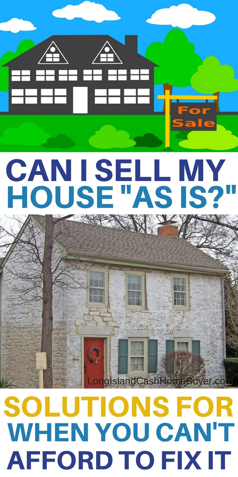 Can You Sell A House As Is Long Island Cash Home Buyer Llc