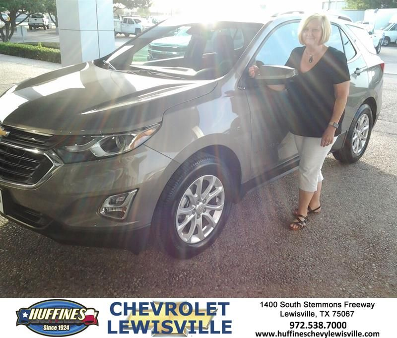 Happy Anniversary to Patricia on your Chevrolet Equinox