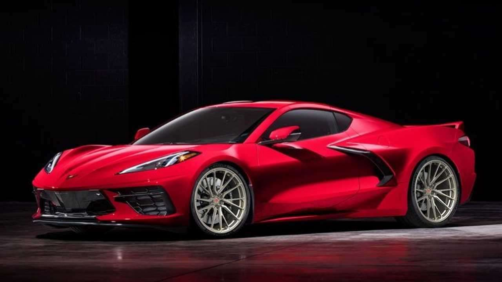 2020 Chevrolet Corvette Vossen Wheels Motor1 Com Chevrolet Corvette Stingray Chevy Corvette Chevrolet Corvette