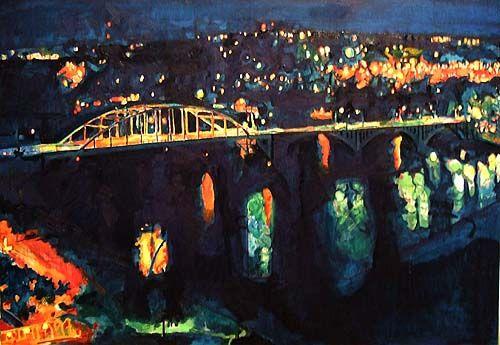 John Kushmaul - Broadway Bridge