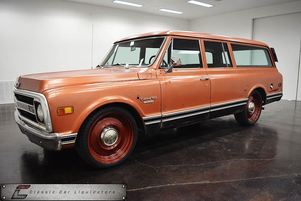 1970 Chevrolet Suburban For Sale Classic Car Liquidators