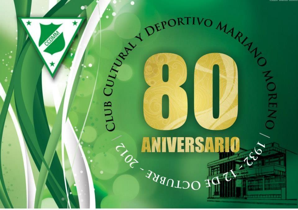 Foto para los 80 años del Club C. y D. Mariano Moreno de Castelar