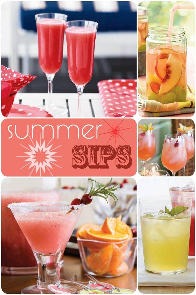 Summer Fruity Drinks!