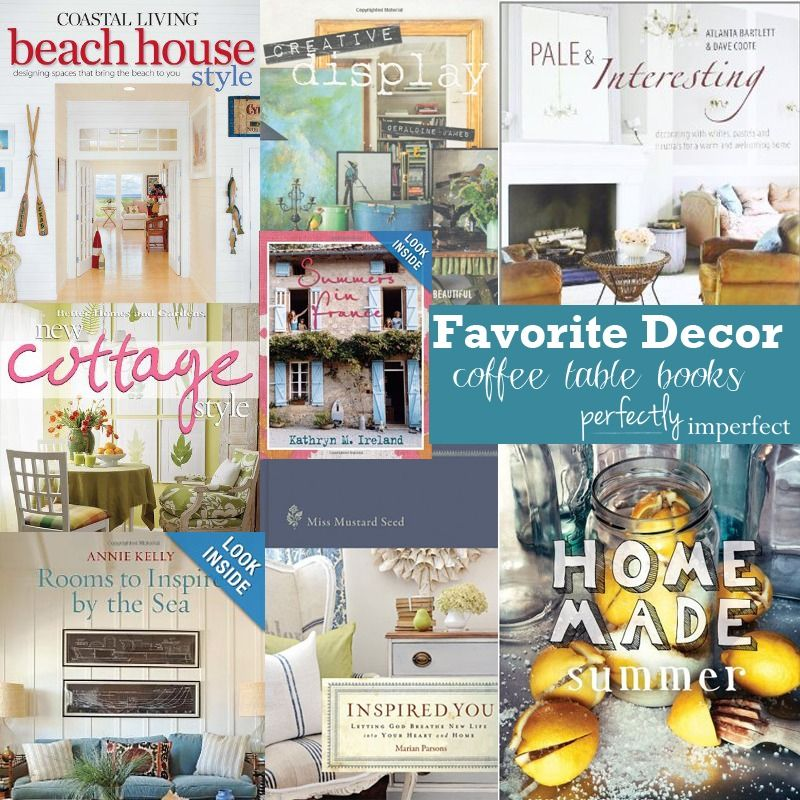 Favorite Home Decor Coffee Table Books Perfectly Imperfect