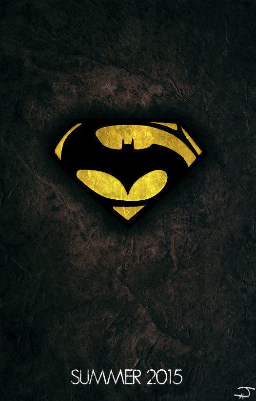 Batman Versus Superman 2015 Now This Is A Logoposter I Could Get