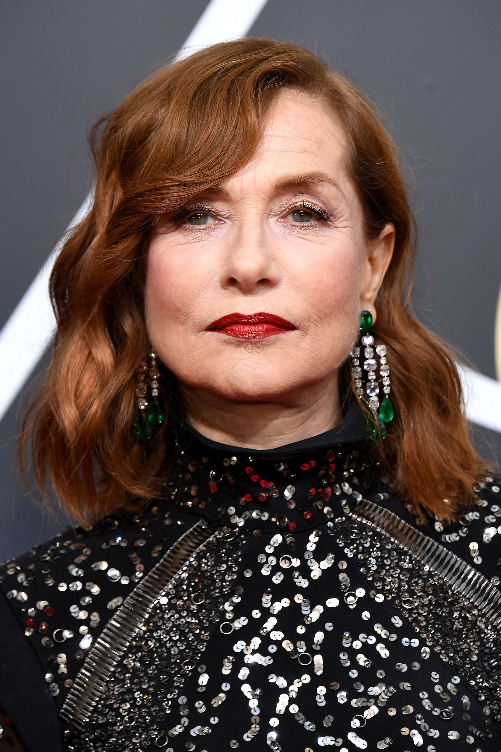 January 7 2018 Isabelle Huppert Coiffures Maquillage En 2018
