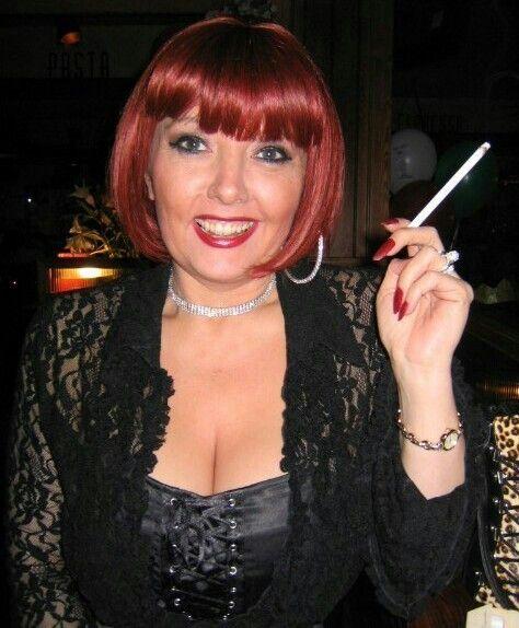 Sexy older women smoking