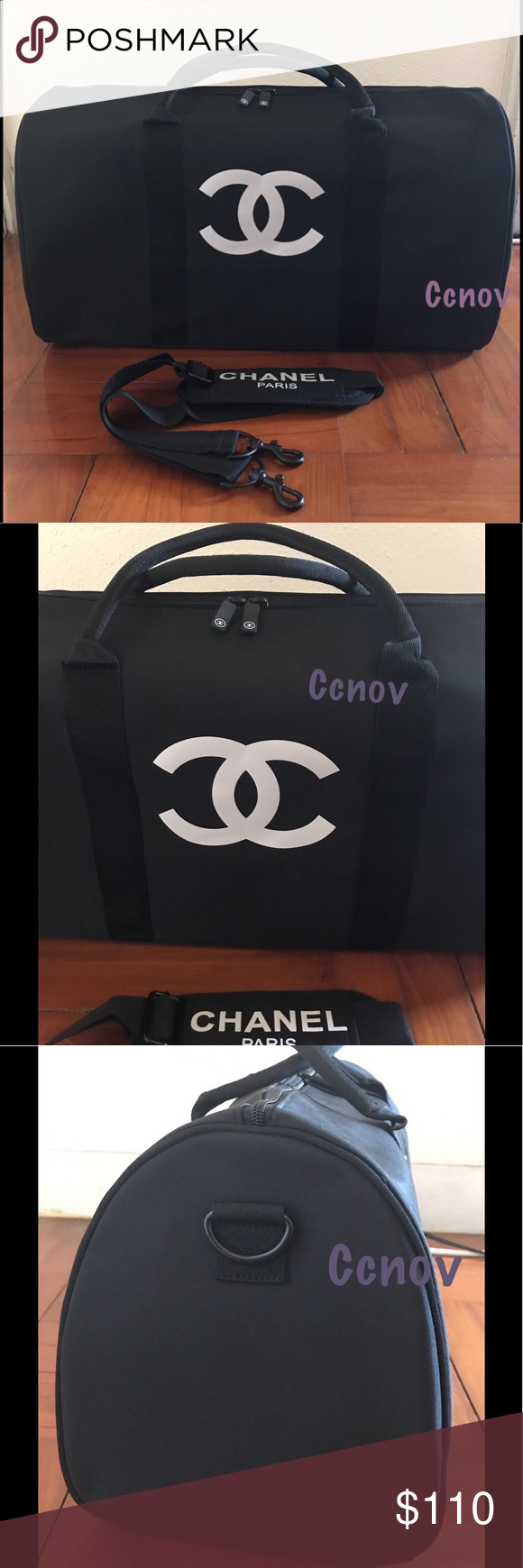 cba57cc48964 Authentic Chanel Travel Duffle Strap Bag VIP Price is firm!!! Authentic  Travel Bag