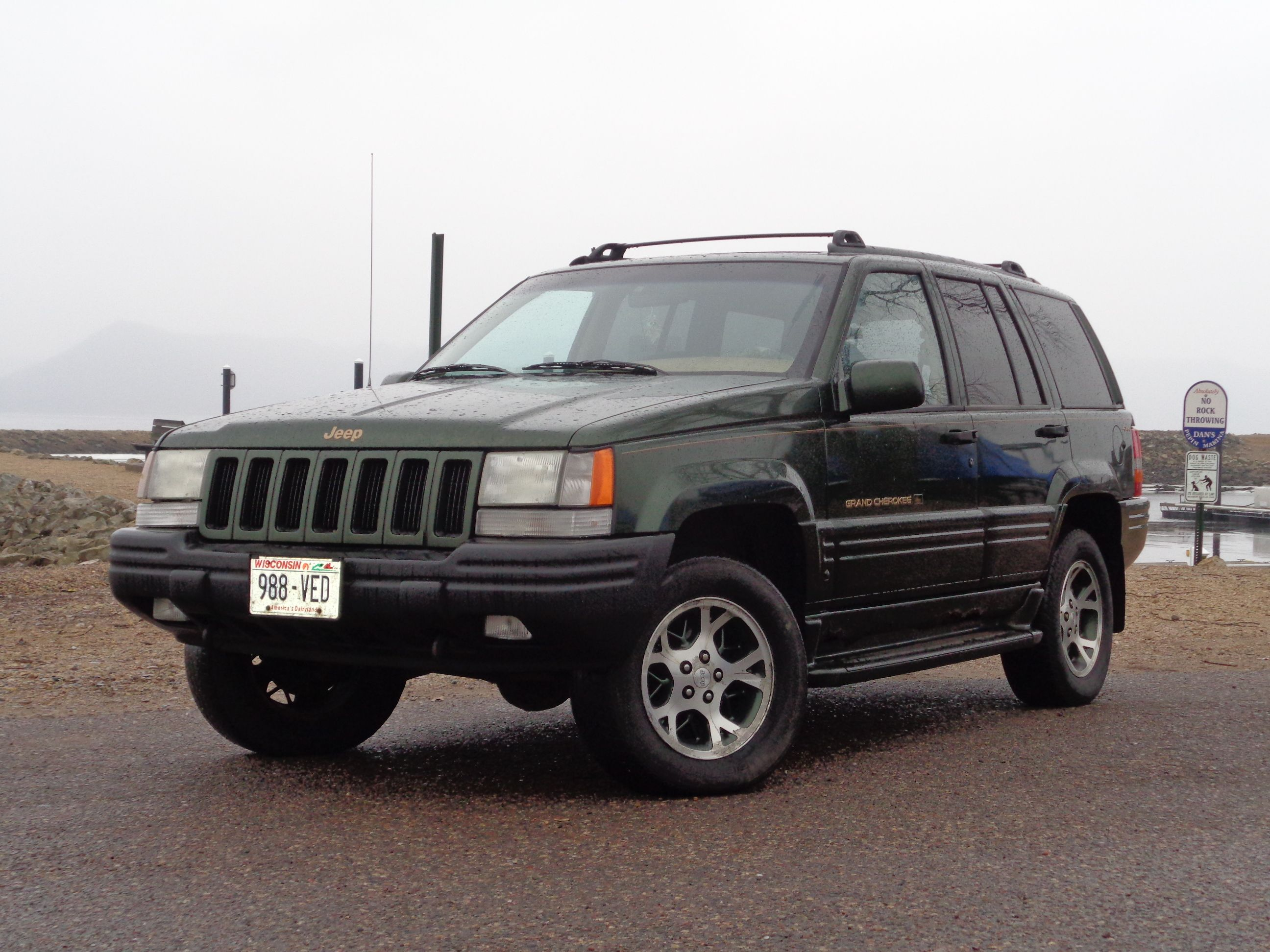 97 Jeep Grand Cherokee Orvis Edition. This is a rare model 2700 produced in  97