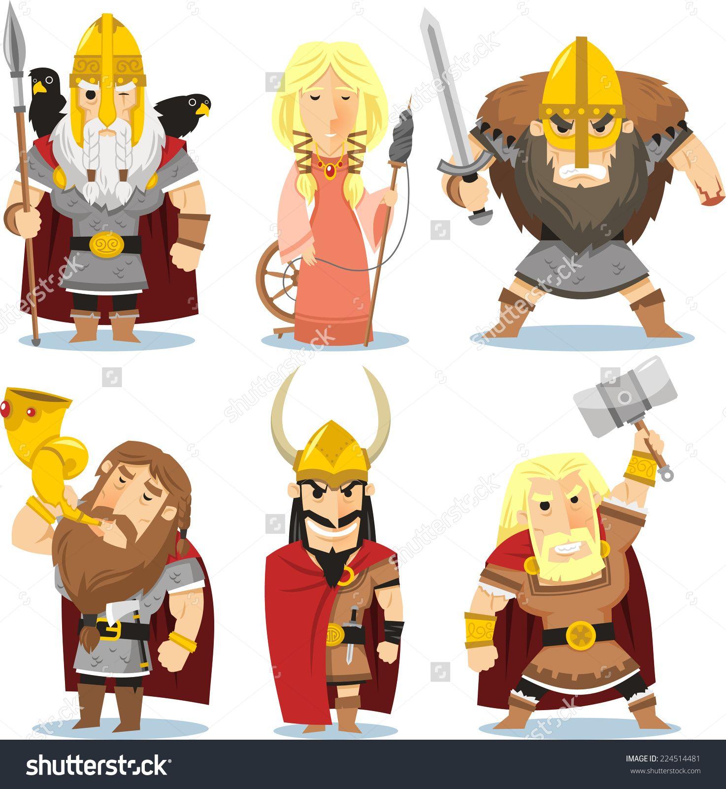 Ghim C A Natalyatelegina Tren Vikings Mythology Ts