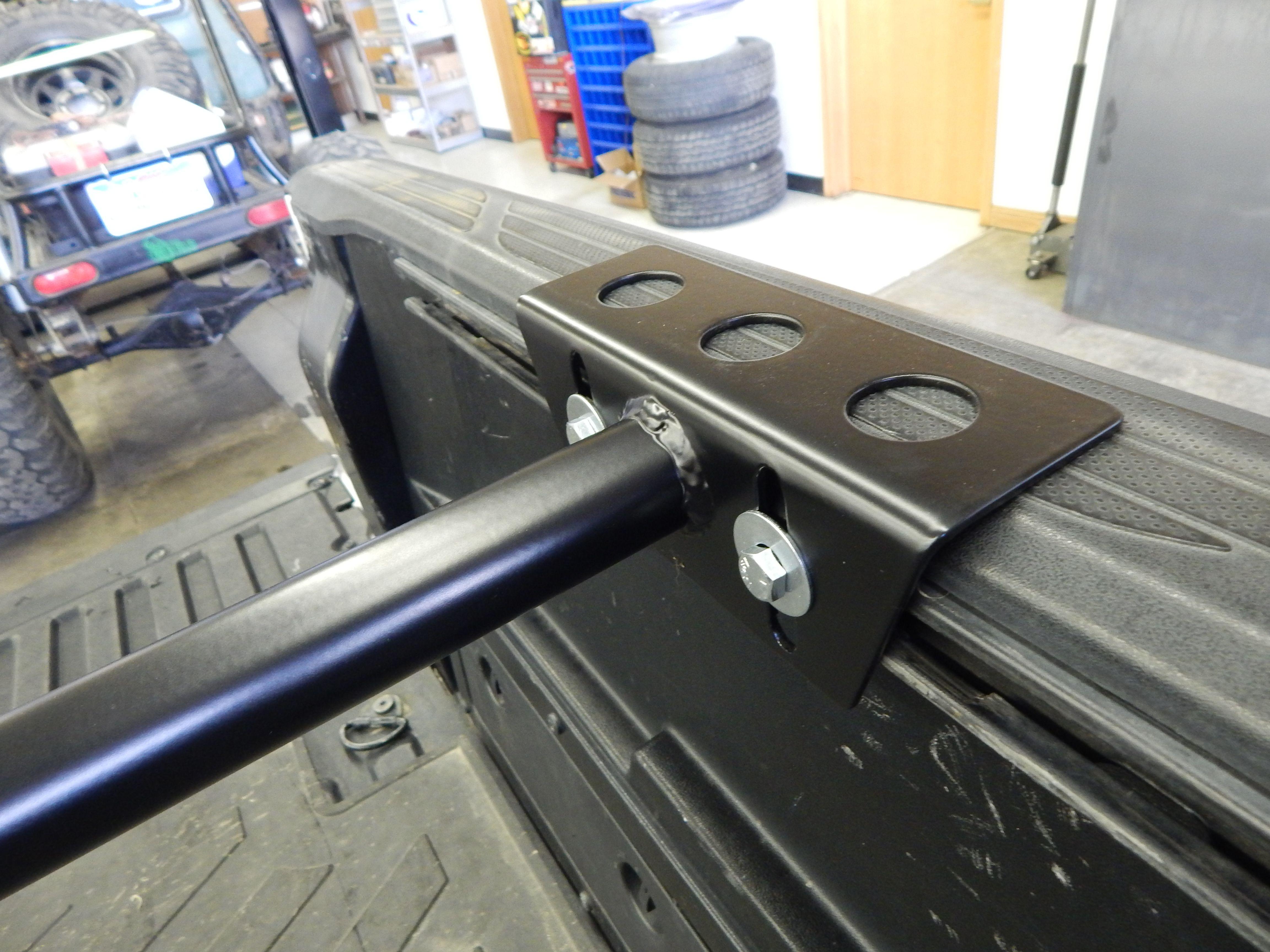 Tacoma Lo Pro Bed Bars C4 Fabrication