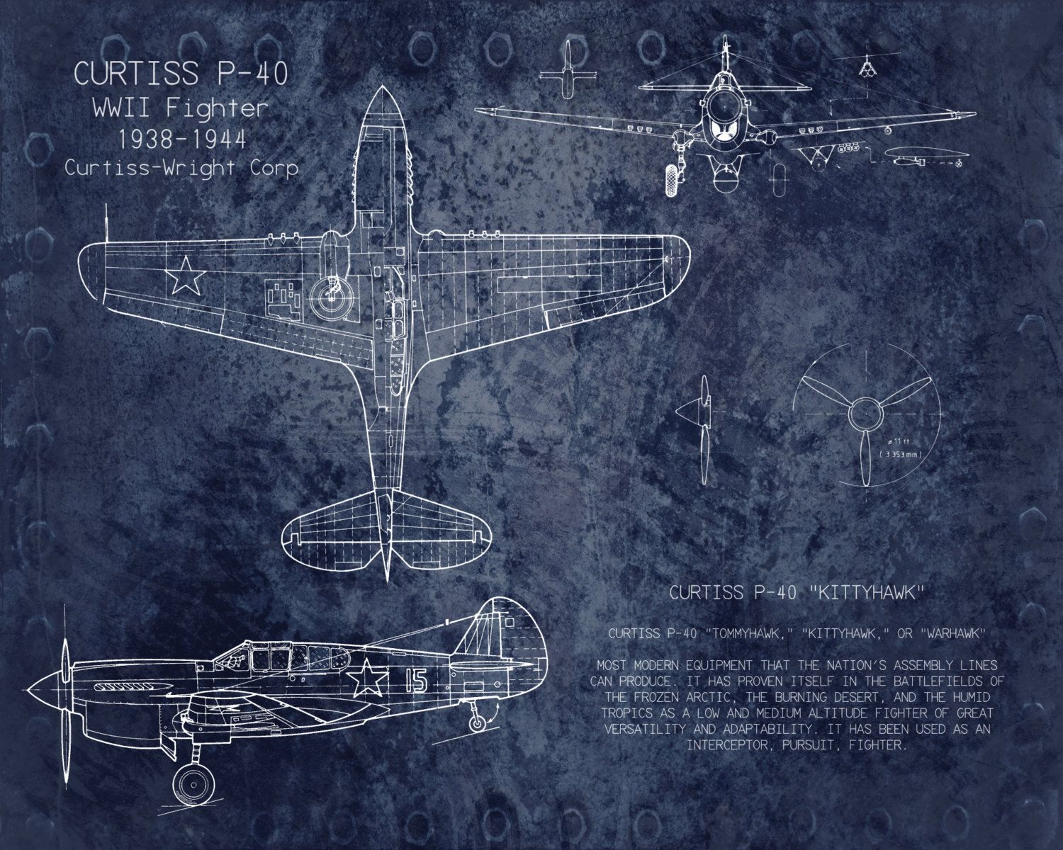 Curtiss p40 wwii airplane blueprint art 8 x 10 by scarletblvd curtiss p40 wwii airplane blueprint art 8 x 10 by scarletblvd 2500 malvernweather Gallery