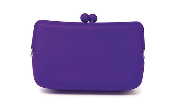 Candy Store Cosmetic Pouch in Grape