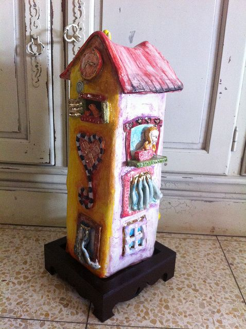 Home Sweet Home Sweet Home Novelty Lamp Miniature Houses
