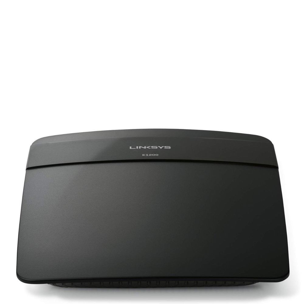 Linksys e1200 300 mbps 4 port 10100 wireless n300 router w explore wireless router wifi and more keyboard keysfo Images