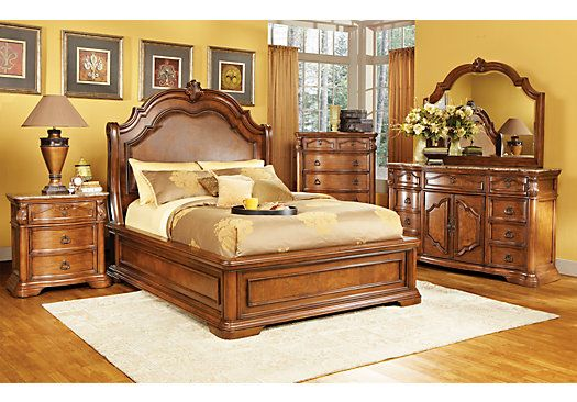 The Rosabelle King Dark Pecan 8pc Panel Bedroom Set Review Home Best Furniture In 2020 Rooms To Go Bedroom King Bedroom Sets Small Bedroom Remodel