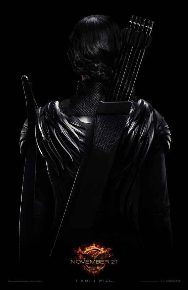 """There's a brand-new poster for The Hunger Games: Mockingjay — Part 1 and it provides another peak at Katniss (Jennifer Lawrence) in the franchise's third film, due out Nov. 21. 
