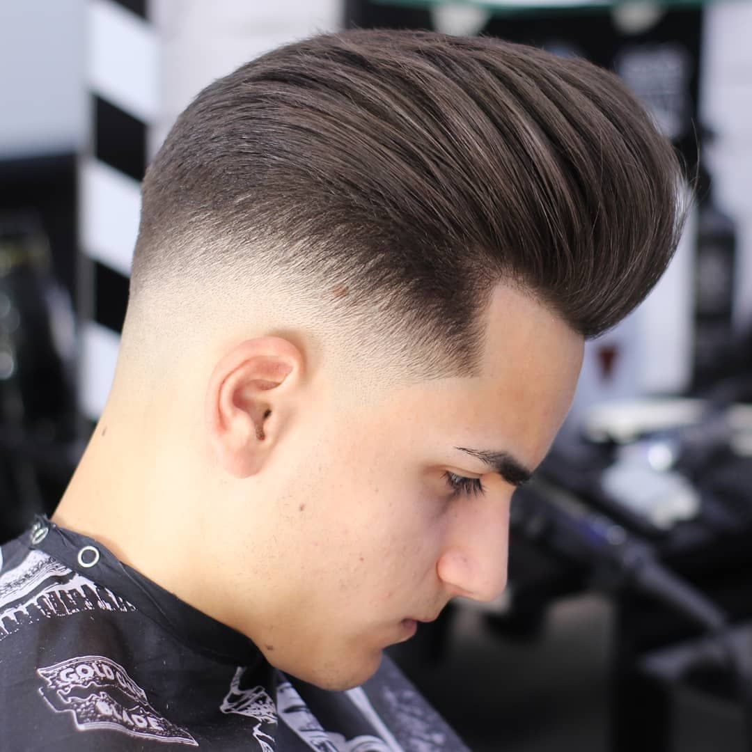 what is mid fade? 20 best medium fade haircuts | pompadour