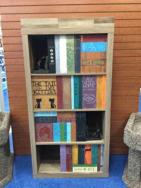 Cataflauge Bookcase Cat Tower