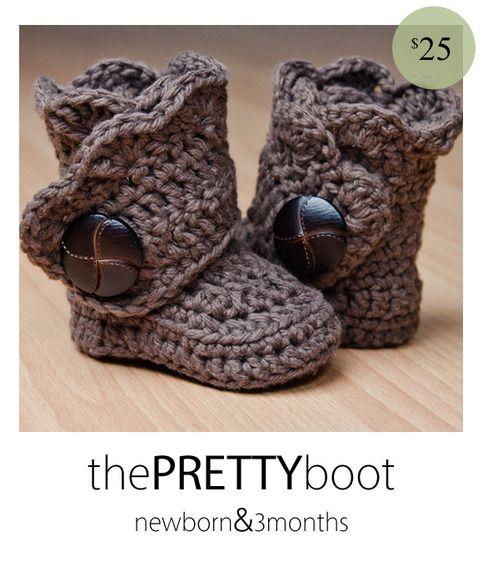 the PRETTY boot (Newborn & 3 months)