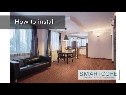 How To Install Smartcore Vinyl Flooring Installation Basement Makeover Floor Installation