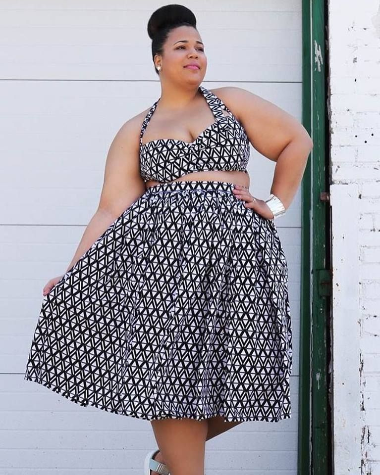 d68e3dc6a 50+ Stunning Crop Top Ideas For Plus Size Ladies | Catwalk | Fashion ...