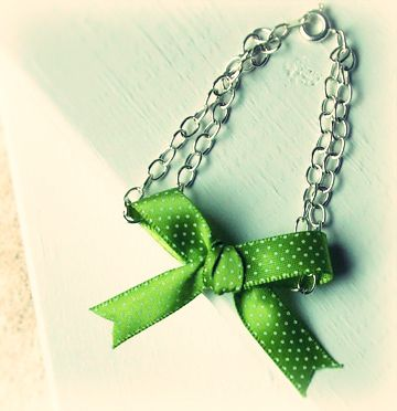 $32 on Ettika's site. Less than $3 at home. make your own designer-style cute bow bracelet!