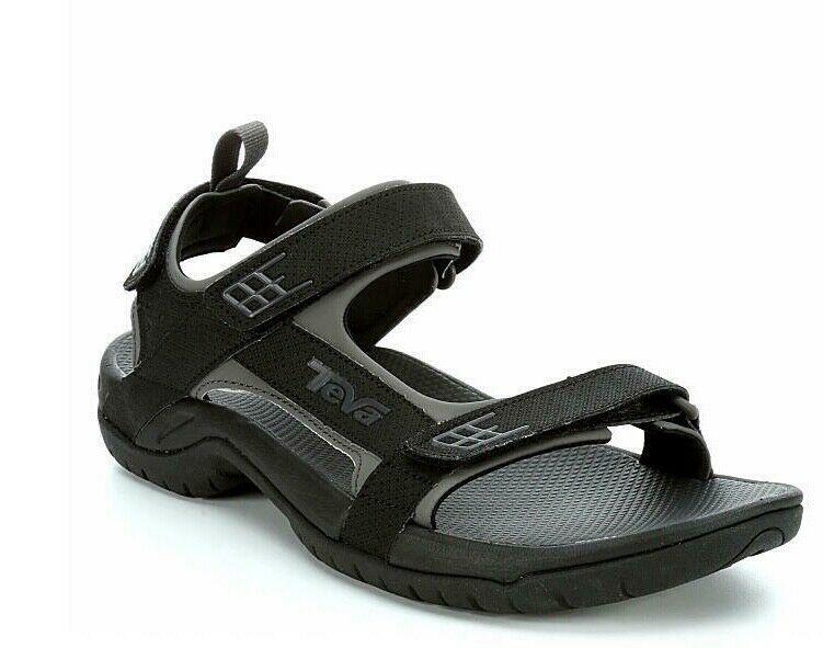 038c100d4f57 Teva Minam Men s size US 13 EU 47 289 Black Sports Water Trail Sandals  Strappy