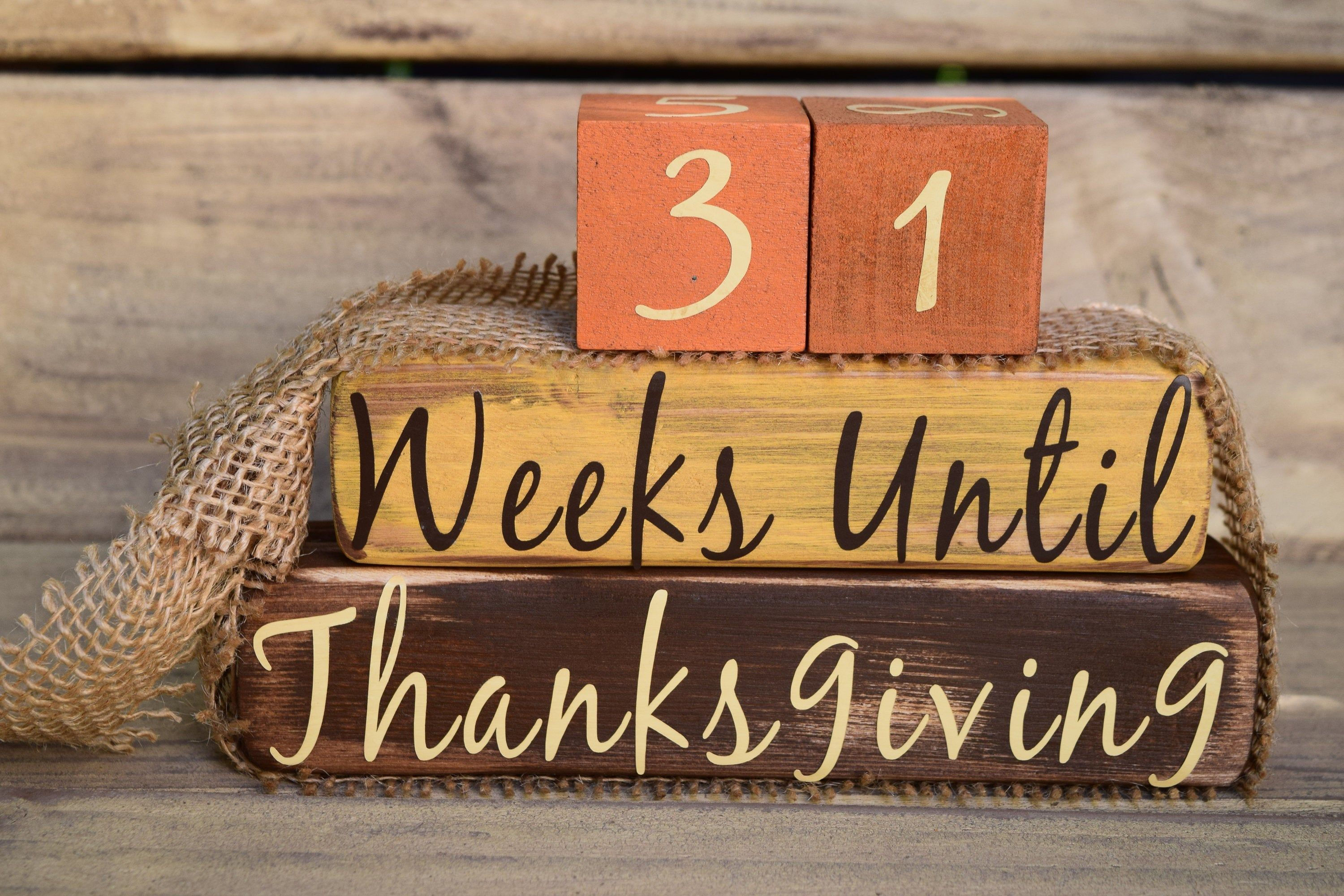 Vintage Thanksgiving Countdown Fall Colors Yellow Orange Etsy In 2020 Vintage Thanksgiving Thanksgiving Countdown Vintage Christmas