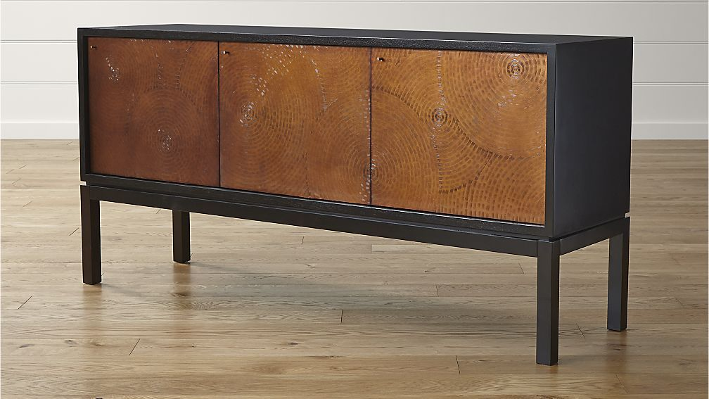 Burrata La Credenza Ltd Uk : Cirque three door sideboard crate and barrel texas house