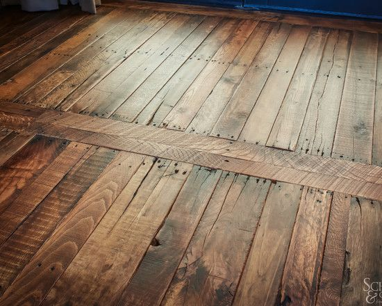 Awesome Interior Design With Cool Pallet Wood Floor Ideas Cool