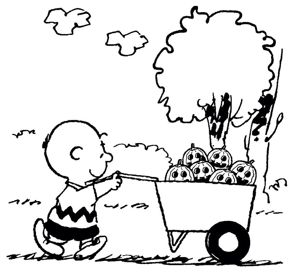 Charlie Brown Christmas Lucy Coloring Page (With images
