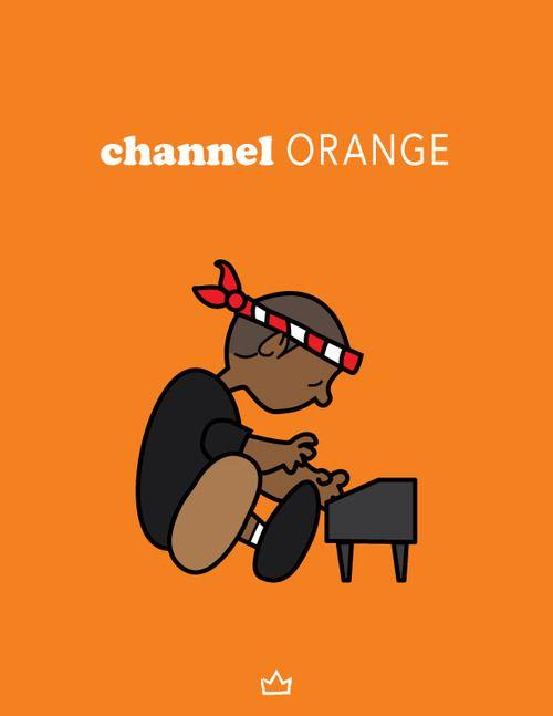 Channel Orange - Frank Ocean | SMART art  | Channel orange