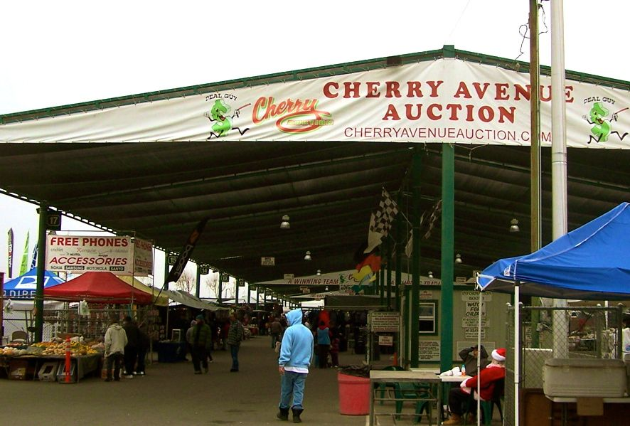 Cherry Auction in Fresno, California was a good place to buy fresh - fresh fresno county hall of records birth certificate