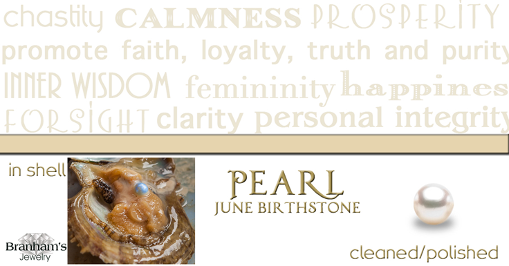 June Birthstone- Pearl