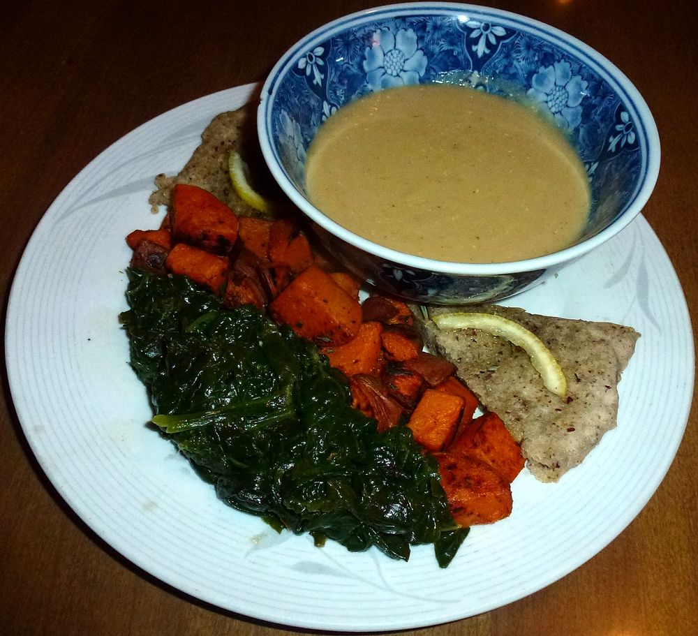 Creamy Red Lentil Soup #glutenfree #vegan #recipe #soup
