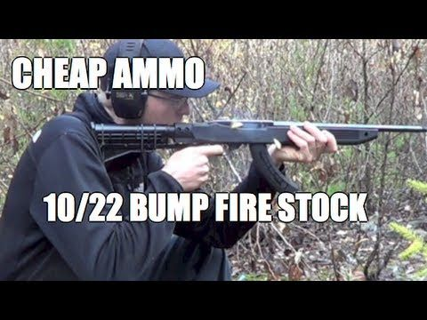 How to make a bump fire stock for 10/22 — pic 1