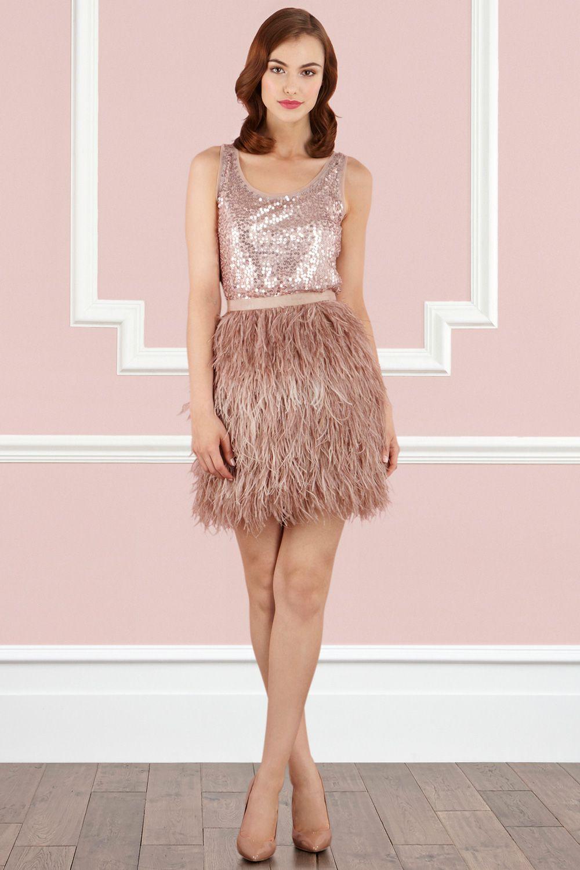 Coast Stores - Skirts - FRANKIE OSTRICH FEATHER SKIRT | ostrich ...