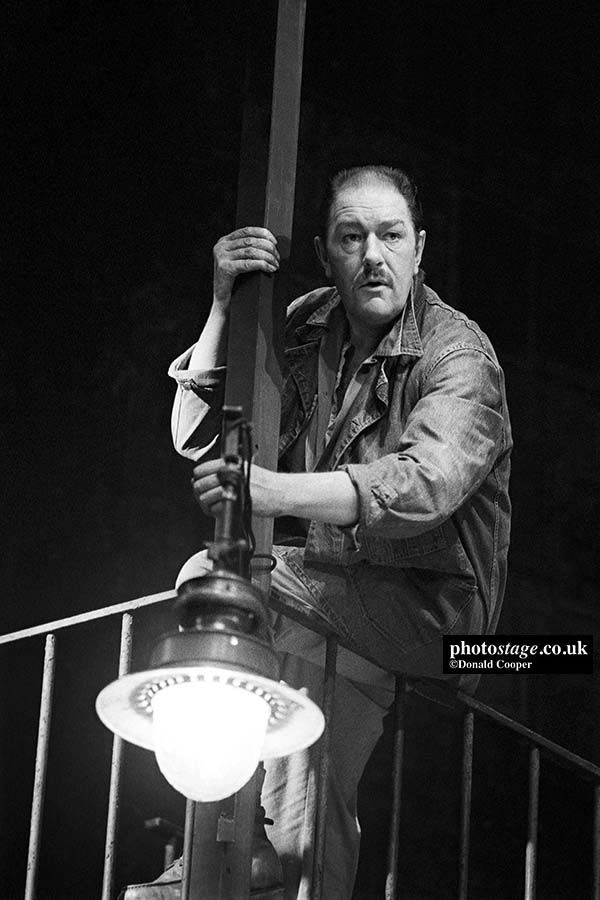 Michael Gambon As Eddie Carbone In Arthur Millers A VIEW FROM THE BRIDGE Directed By Alan Ayckbourn 1987 Ga