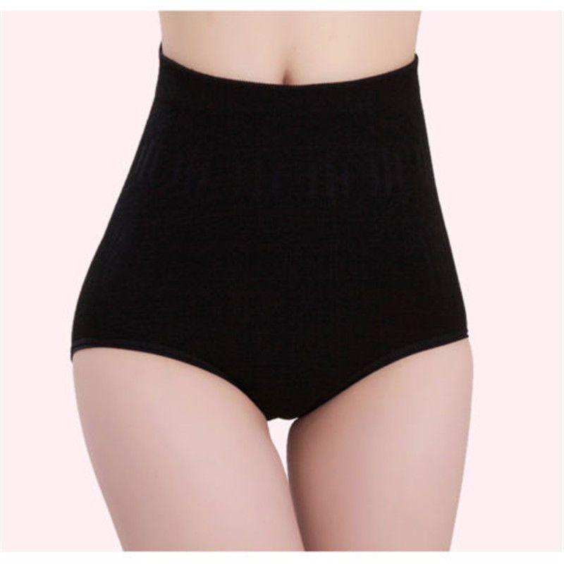 c77e206e7e Women High Waist Tummy Control Body Shaper Briefs Slimming Panties Underwear