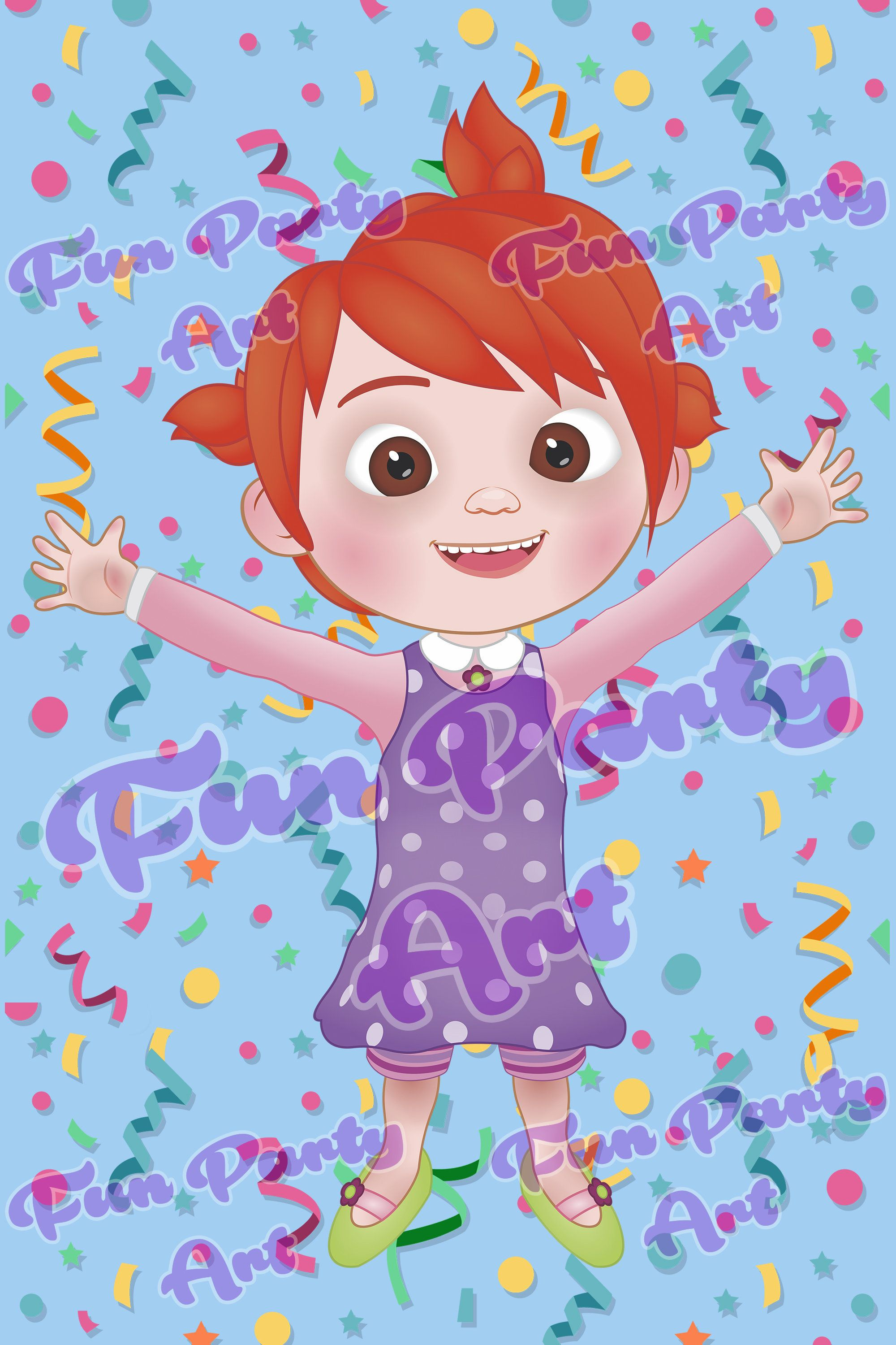 Cocomelon Yoyo Girl Baby Shark Png Digital Instant Download Birthday Party In 2020 Baby Boy 1st Birthday Party 2nd Birthday Party Themes Baby Birthday Party