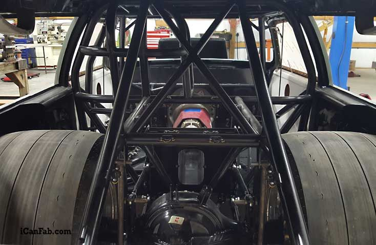 Drag Car Build In The Final Stages Look At The Stance Of This Car Drag Racing Drag Cars Tube Chassis