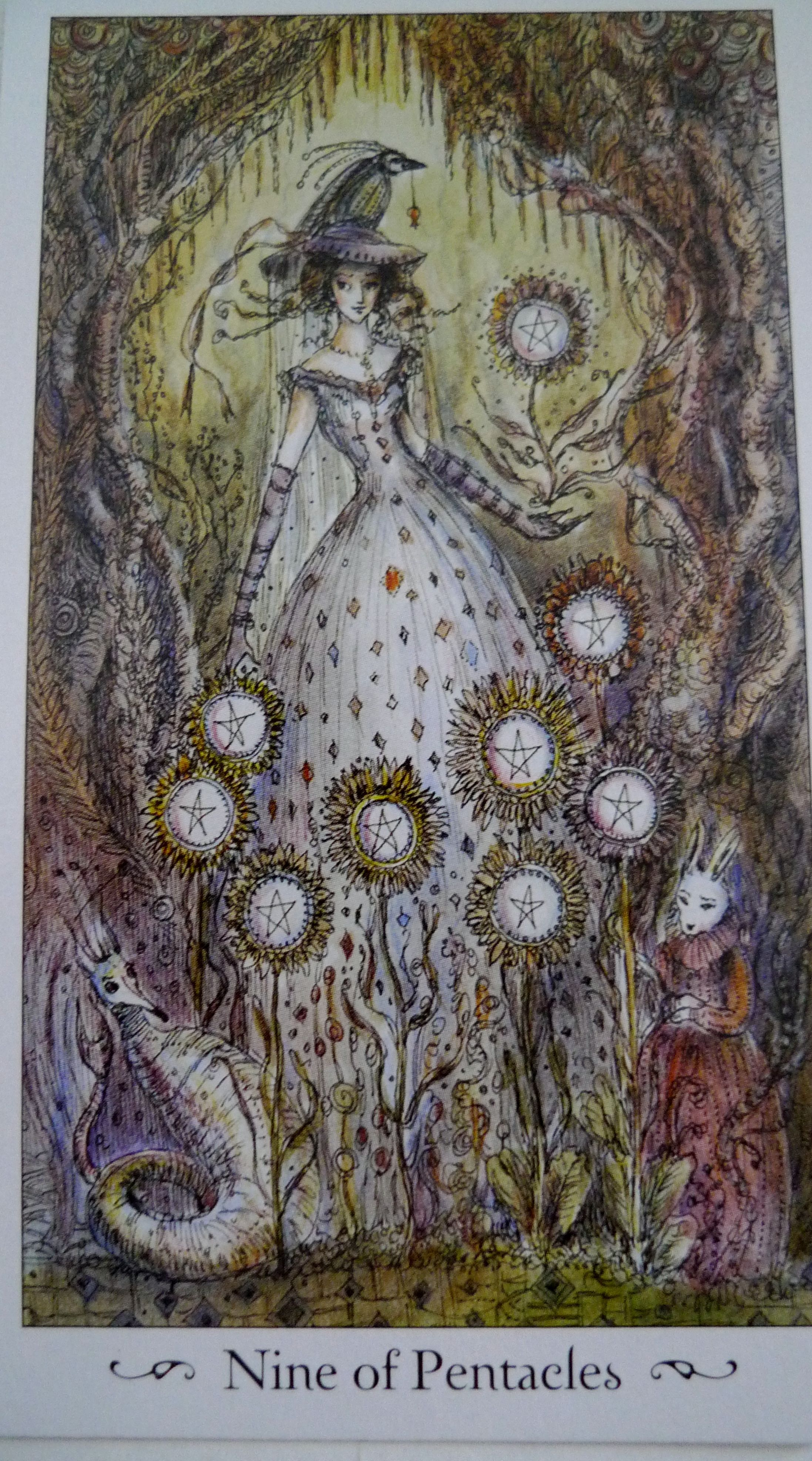 4.9.12 Tarot Card Of The Day: Nine Of Pentacles