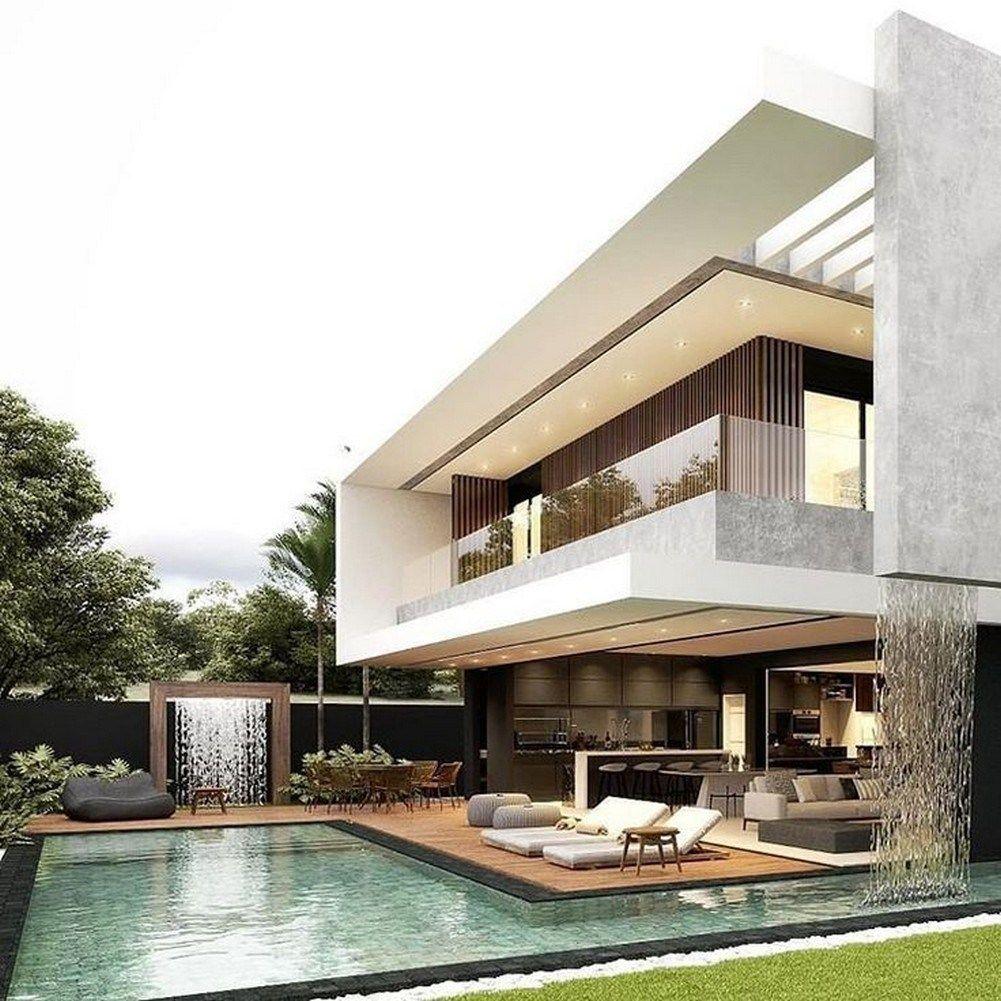 Minimalist Exterior Home Design Ideas: 46 Minimalist Exterior Home Design Ideas For You 6 In 2020